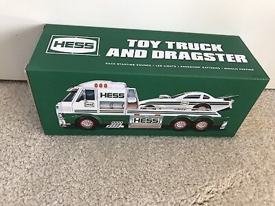 2016 Hess Toy Truck & Dragster Brand New Unopened Box - 2 IN STOCK