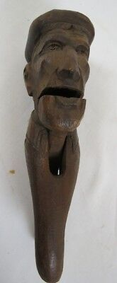 19Th Century Continental Carved Figural Nutcracker