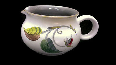 Denby Stoneware Albert College Hand Painted Spring Floral Creamer 3 Inches MCM