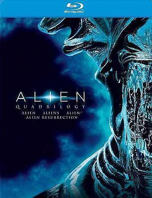 Alien Quadrilogy (Blu-ray Disc, 2014) Alien, Aliens, Alien 3, Alien Resurrection