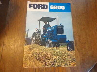 1975 Ford 6600 Tractor Sales Brochure