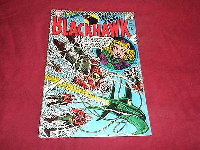 Blackhawk #225 (Oct 1966, DC) silver age 5.5/fn- comic!!!!