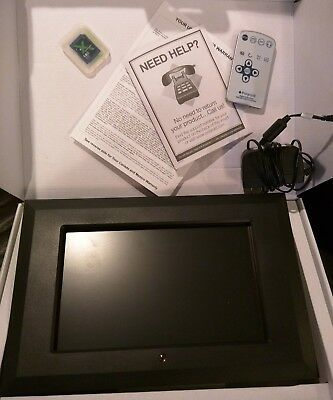 """Polaroid XSA-01010 (10.2"""") Digital Picture Frame GREAT. FOR OFFICE USB TESTED"""