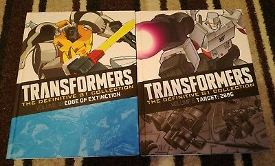 Transformers the definitive G1 collection two books 6 & 18