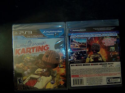 LittleBigPlanet Karting Sony PlayStation 3 2012 PS4 2k12 racing Brand New