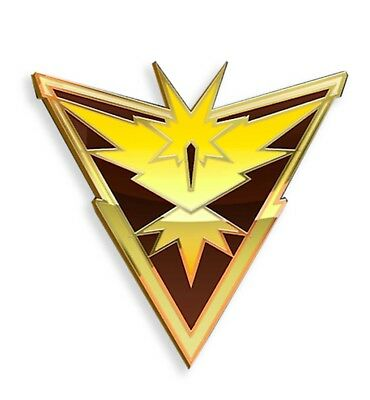 U.S Pokemon Go Team Instinct 3/'x5/' Black yellow Flag Banner Seller shipper 1