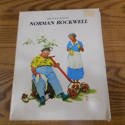 The Four Seasons Boxed set 1984 by Norman Rockwell