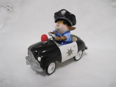 Wee Forest Folk M-270b Mouse Patrol - Retired - In WFF Box