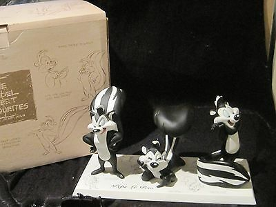 """pepe Le Pew"" Warner Bros ""the Model Sheet Maquettes"""