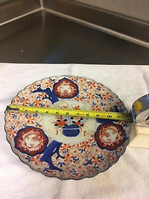 18th century delft charger polychrome