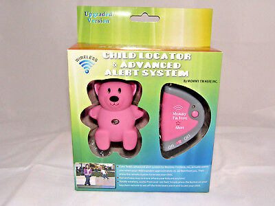 Mommy I'm Here Advanced Alert Child Locator Tracker Teddy NEW find your kid now!