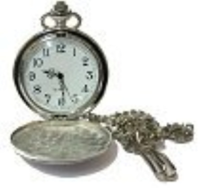 Lucy G Engraved Personalised Pocket Watch in Gift Box Birthday/Best Man/Wedding