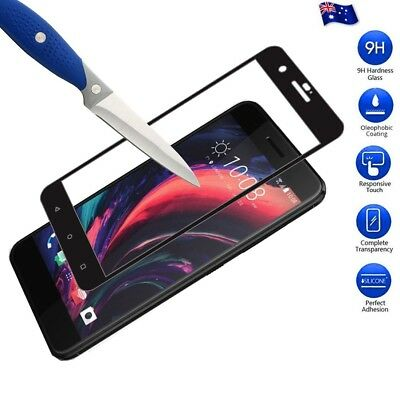 3D Full Coverage Tempered Glass LCD Screen Protector For HTC One X10