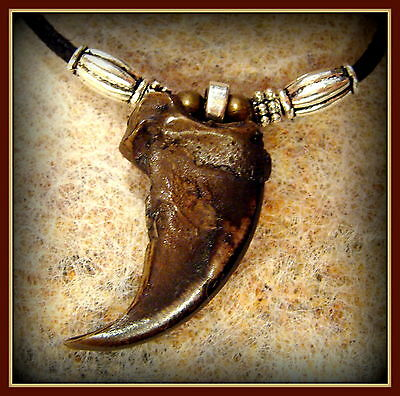 BEAR CLAW (replica) Pendant Necklace Jewelry - Authentic looking BEAR Claw
