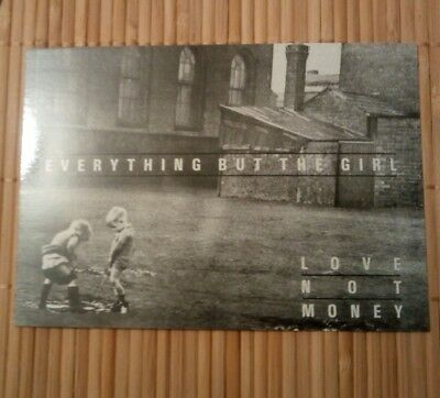 carte postale Everything but the girl music postcards