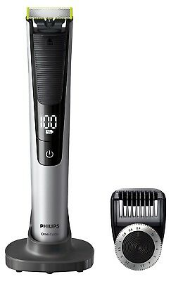 Philips OneBlade Pro QP6520/30 Hybrid Trimmer and Shaver (14-Length Comb) - Excl