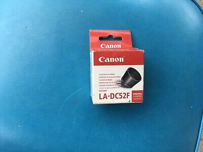 Canon LA-DC524 Conversion Lens Adapter Free Post