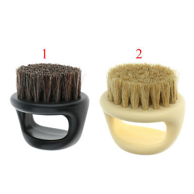 Soft Palm Men's Shaving Brush for Salon Barber Beard Mustache Cutting Dust