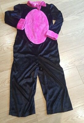 Girls Cat Dressing Up Age 7-8 M&s Halloween Pink & Black