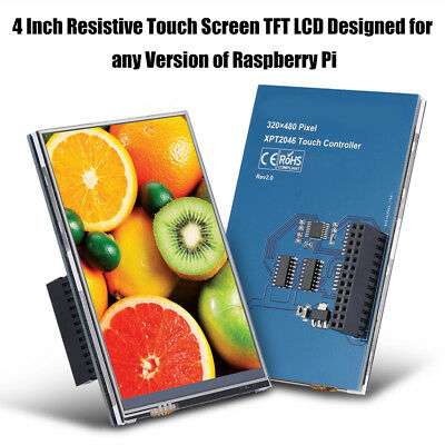 New 4 inch TFT LCD Touch Screen Module 320*480 Display Board For Raspberry Pi BT