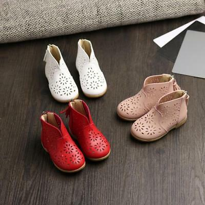 Breathable Toddler Baby Boots For Girl Summer Shoes Kids Child Princess Shoes UK