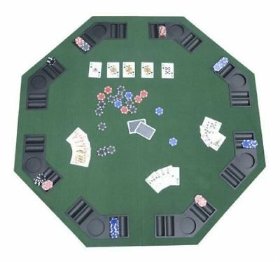 Large Folding Poker and Blackjack Tabletop FREE SHIPPING - christmas Present