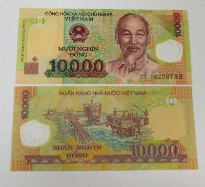 Vietnam 10000 Dong Banknote 1 Piece 2008 Series New Condition