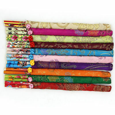 TRADITIONAL CHINESE CHOPSTICKS - Beautifully Decorated Bamboo  - FAST DELIVERY