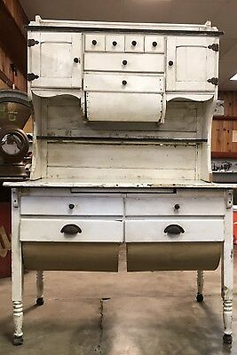 Possum Belly Bakers Cabinet Hoosier Style Antique Primitive Hutch Table
