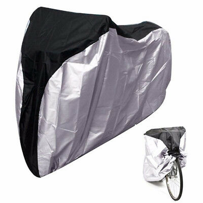 1PC 190T Waterproof Bike Bicycle Motorcycle Cover Rain Snow UV Protector 2 Size