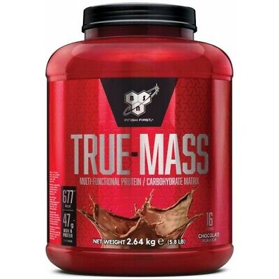 BSN True Mass 2640 g Weight Gainer Mass Gainer zum Aufbau magerer Muskelmasse