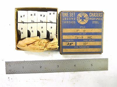 """New Usa 7/8-9 Geometric Chasers For 1"""" Die Head"""