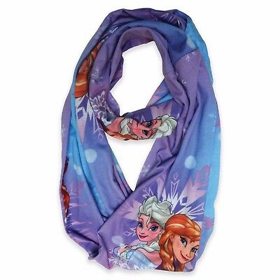 "Disney ""Frozen"" Infinity Scarf Blue and Purple New"
