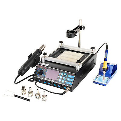 Soldering Station Soldering Iron Hot Air Digital Rework Station 75W Pre-Heater