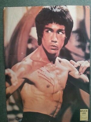 c8615b2ba3c VINTAGE 1974 BRUCE Lee King Of Kung-Fu Story. Collectors Edition ...