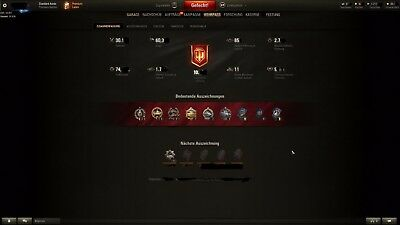 World Of Tanks UNICUM Account 2440+wn8 60%+ Win Rate E25 M60 Object907 22Tier X