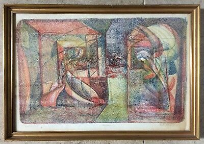Robert Tilleard 'L'Annonciation 2' Limited Ed. Lithograph signed & dated 1975