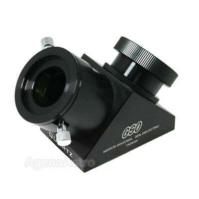 "GSO 2"" 90-deg 99% Quartz Dielectric Mirror Diagonal for SCT Telescope"