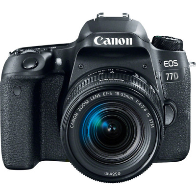 Canon EOS 77D Digital SLR Camera + 18-55mm è STM OBIETTIVO