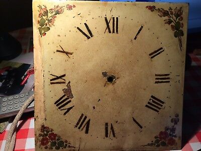 """18th Century  long case clock movement with bell and 43"""" pendulum LINCOLN 1755"""