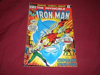 Iron Man #57 (Apr 1973, Marvel) bronze age 6.0/fn comic!!!!!