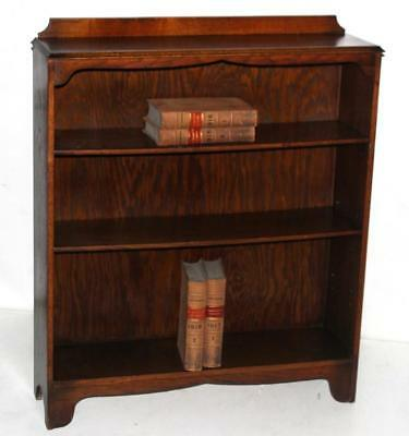 Vintage Oak Bookcase Display Shelving Unit - FREE Shipping [PL4044]