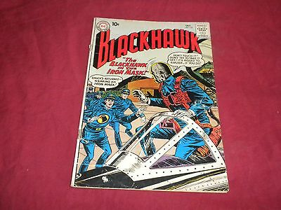Blackhawk #153 (Oct 1960, DC) silver age 4.5/5.0 comic!!!!