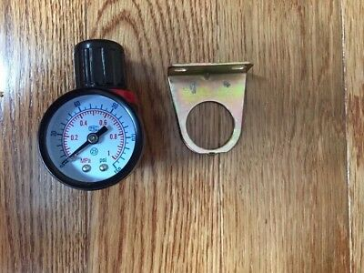 "NEW Air Pressure Regulator With Gauge 1/4 "" NPT for Air compressor"