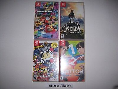 Nintendo Original Switch Replacement Game Cases / CASE ONLY / NO GAME /30 Titles
