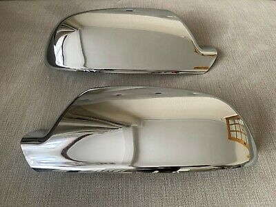 Chrome Wing Mirror Covers Audi 2010-14 A3 S3 A4 S4 A5 S5 Models S Line Quattro