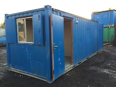 Site Cabin Storage Office Container Portable Building Anti Vandal More Available