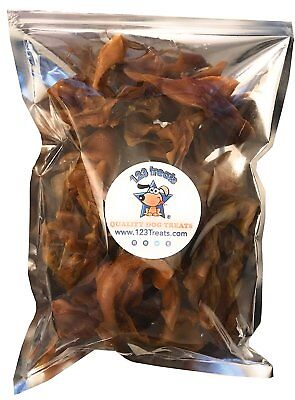 Pigs Ears Strips for Dogs | 100% Natural Healthy Pig Ear Slivers Dog Treats
