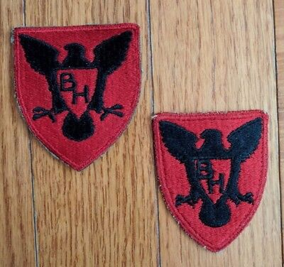 US Army WW2 86th Infantry Division Patch - set of 2, excellent condition!