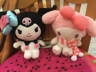 2 sanrio my melody plush imported from japan